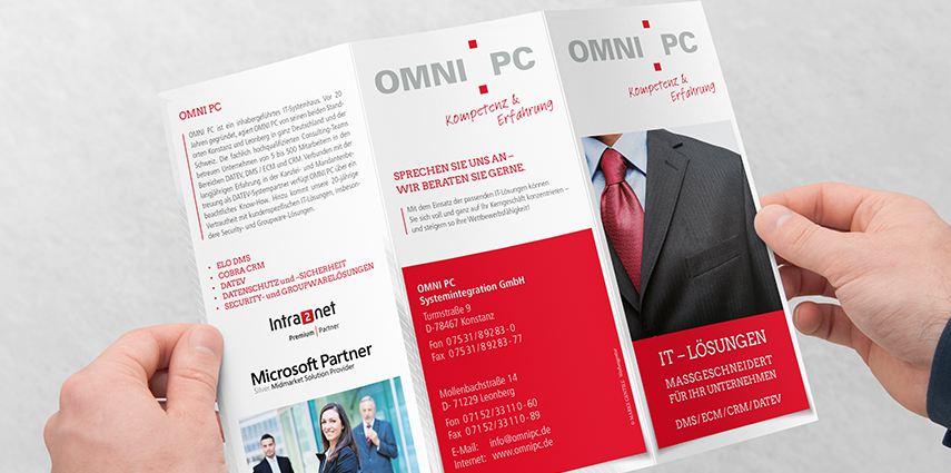 IT-Systemhaus OMNI PC ist neuer Kunde <br>von MARKE GENTILE