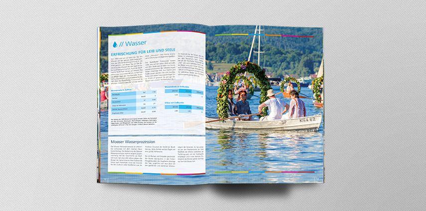 Erster Geschäftsbericht für die Stadtwerke Radolfzell  im neuen Corporate Design