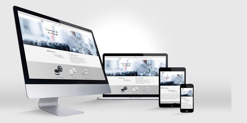 Neue Website für Weltmarktführer WEFA aus Singen